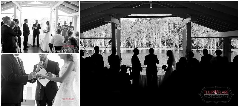 Wedding Ceremony photos at Sirromet Winery, Mount Cotton