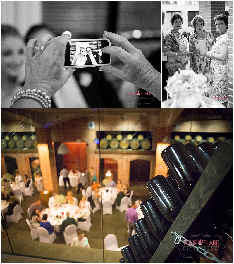 The reception photos at a Sirromet Winery Wedding