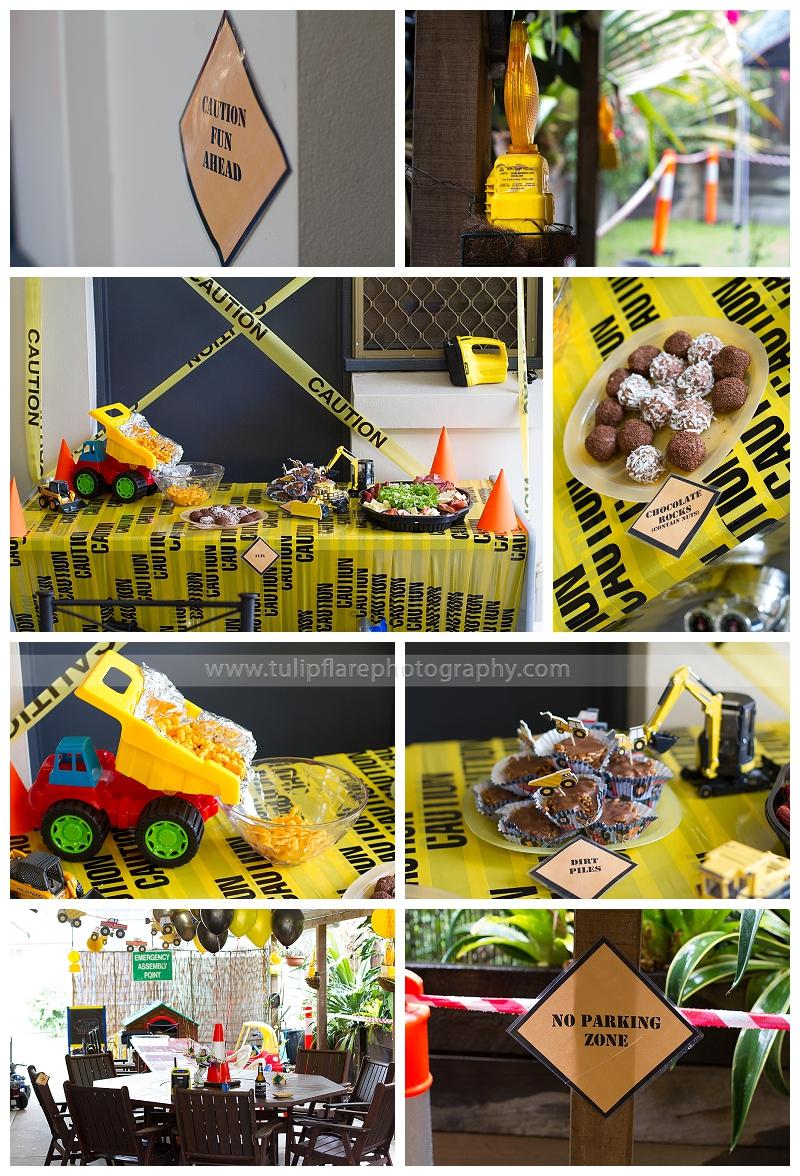 Construction Party theme