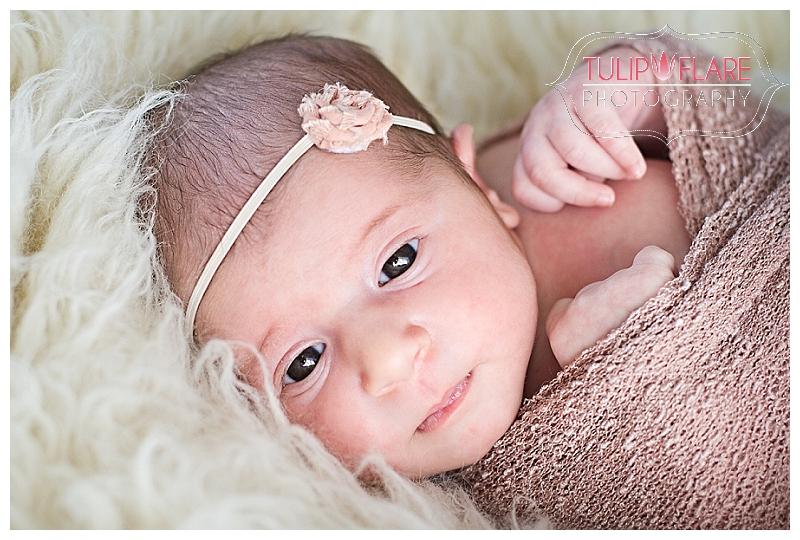 Wide awake newborn photos